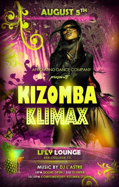 Kizomba Klimax party: kizomba, semba, zouk, tarraxinha