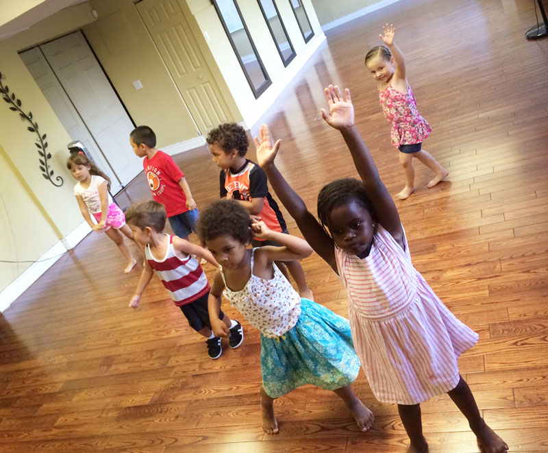 Toronto children latin dance classes, kids salsa lessons
