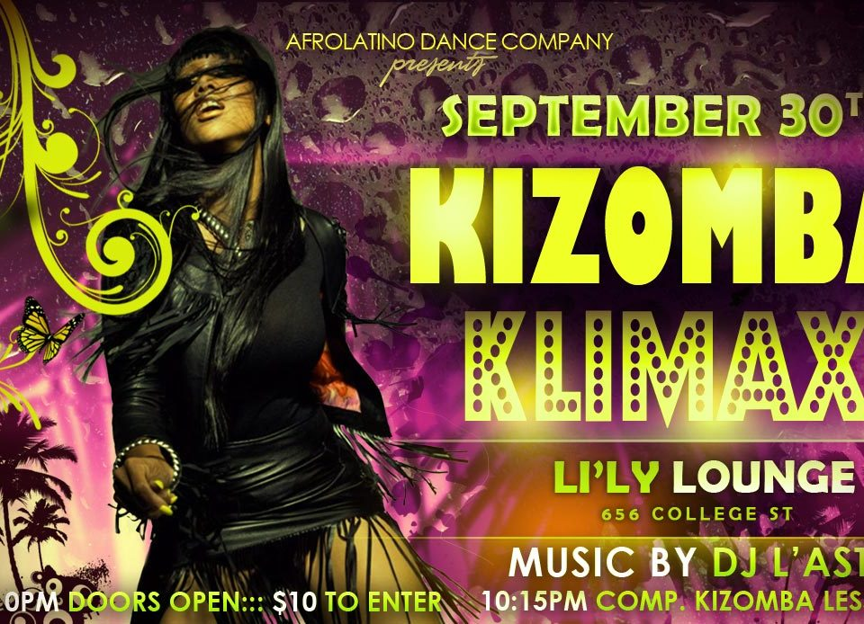 Kizomba, Zouk, Semba Klimax Party