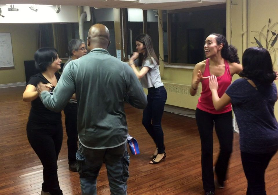 Salsa dancing in Toronto