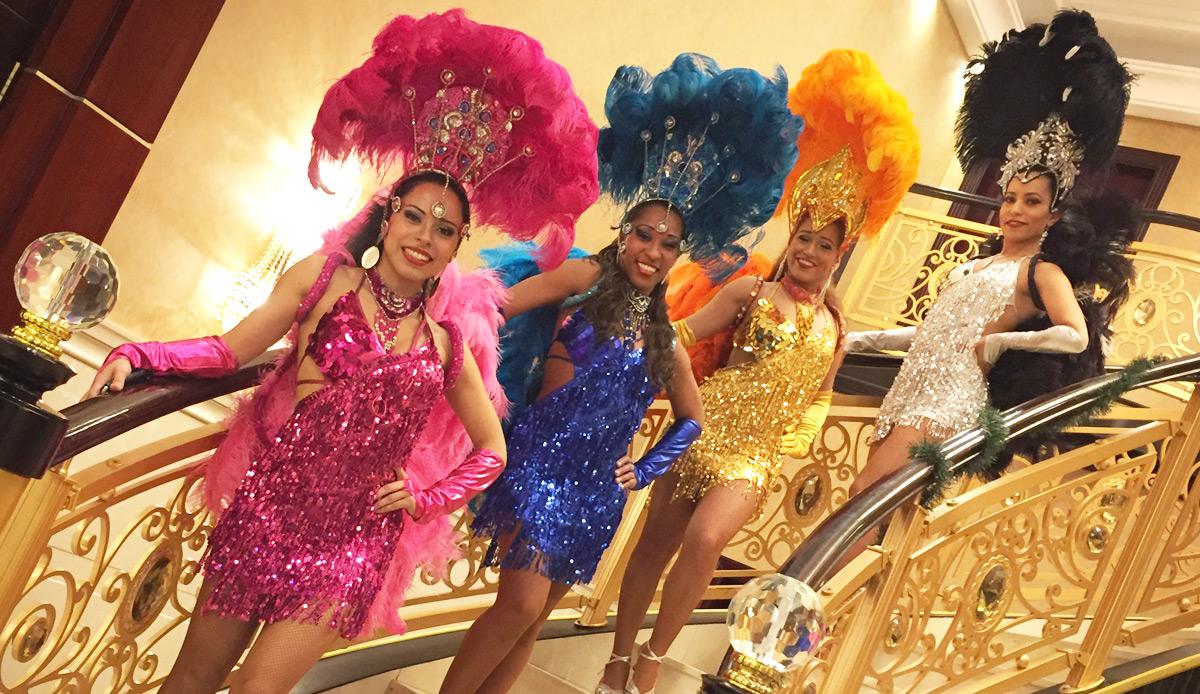 Toronto samba, salsa, latin dancers for hire