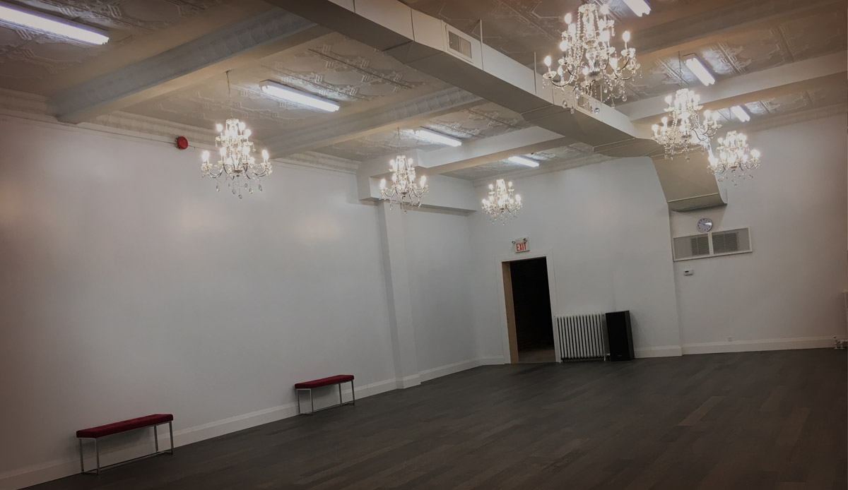 Toronto dance studio for rental