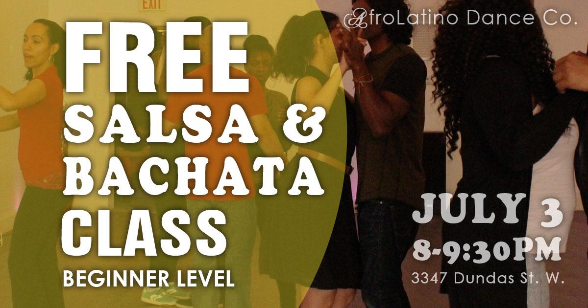 Free Salsa & Bachata Class