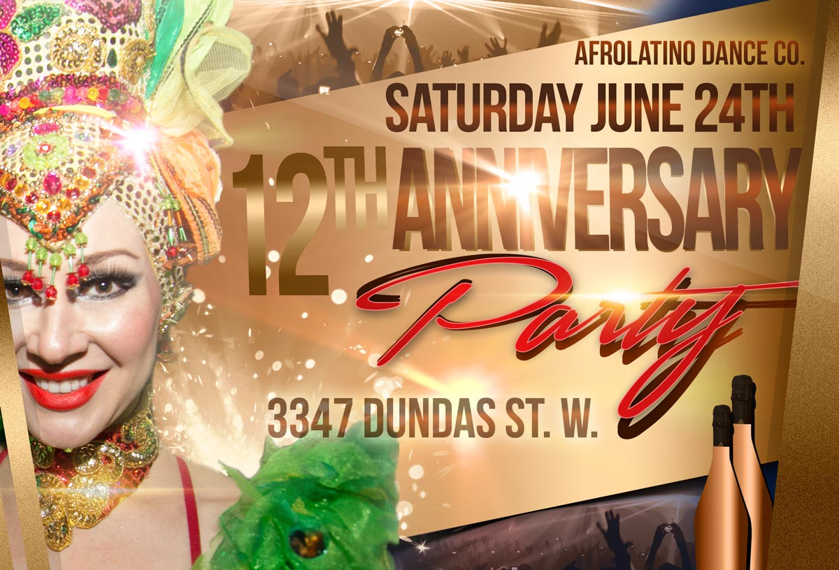 AfroLatino's 12th Anniversary PArty