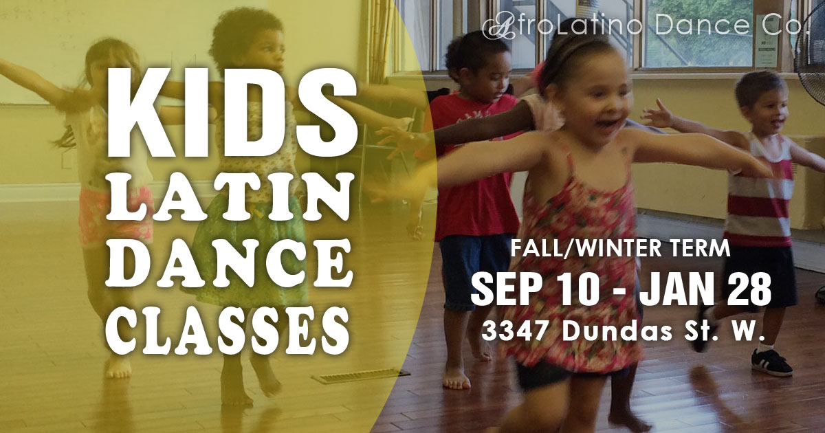 Kids Latin Dance Classes