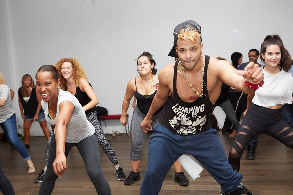 Reggaeton dance workshop