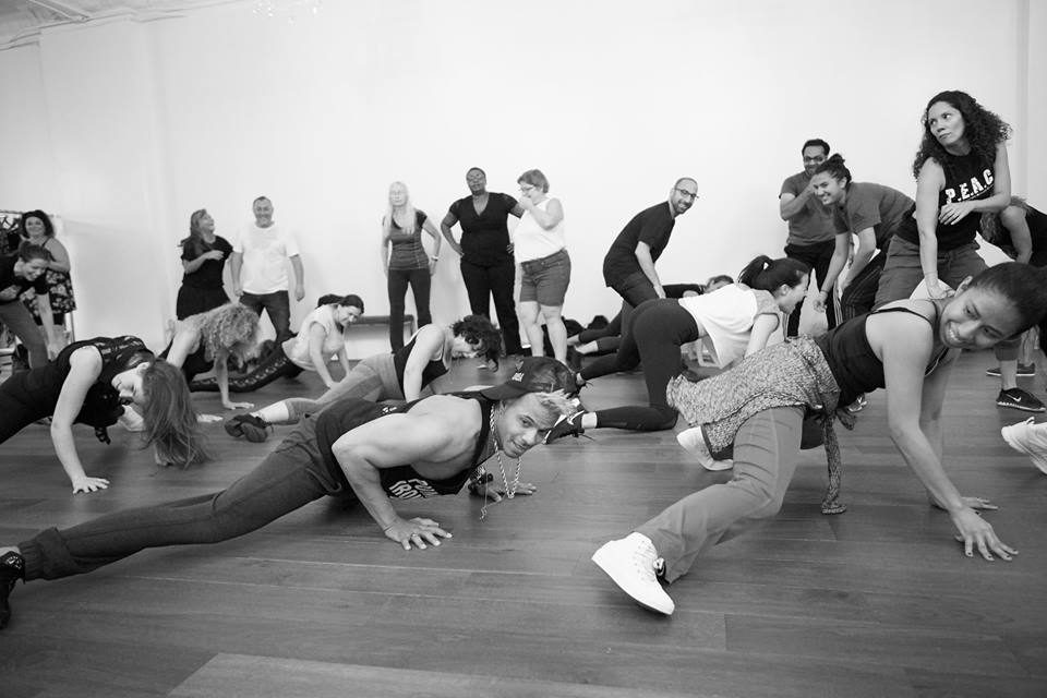 Reggaeton dance workshop