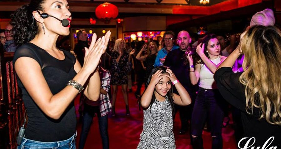 Toronto Salsa lesson at Lula Lounge