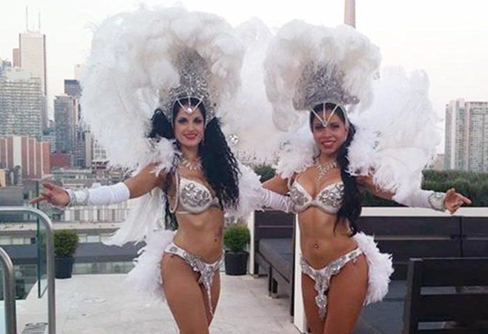 Toronto samba dancers