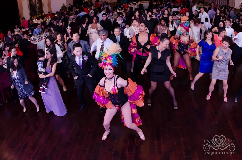 Samba, salsa dancers for weddings