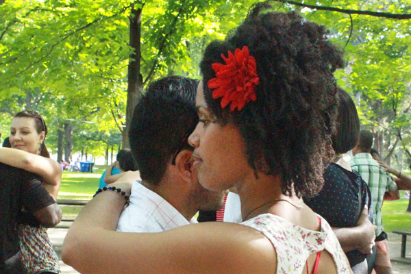 Kizomba picnic at High Park