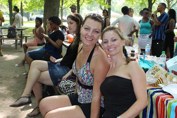 Kizomba picnic at High Park