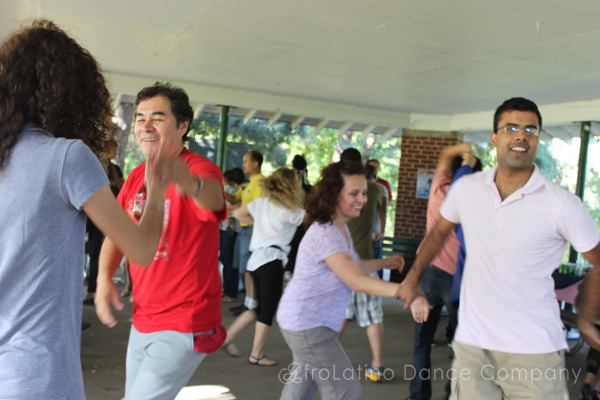 Salsa Picnic at High Park
