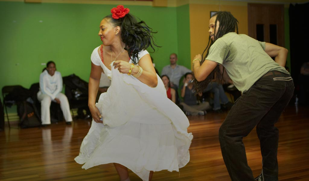 Afro-Cuban workshop with Consuelo Herrera