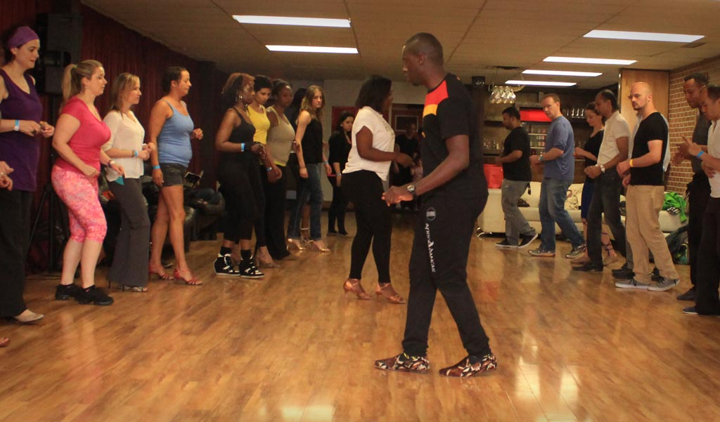 Kizomba & Semba workshops with Paulo & Lanna