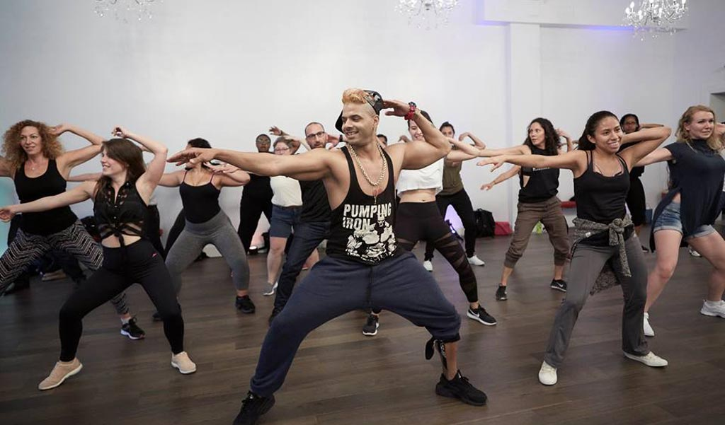 Reggaeton workshop with Heikel Valdes