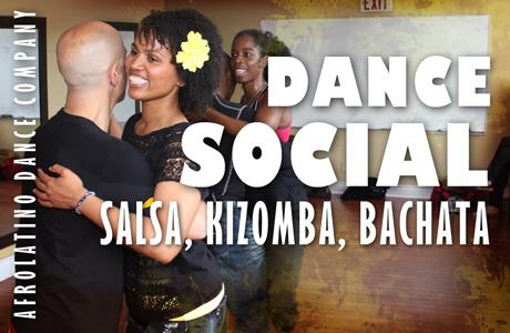 Salsa, Kizomba, Bachata dance social