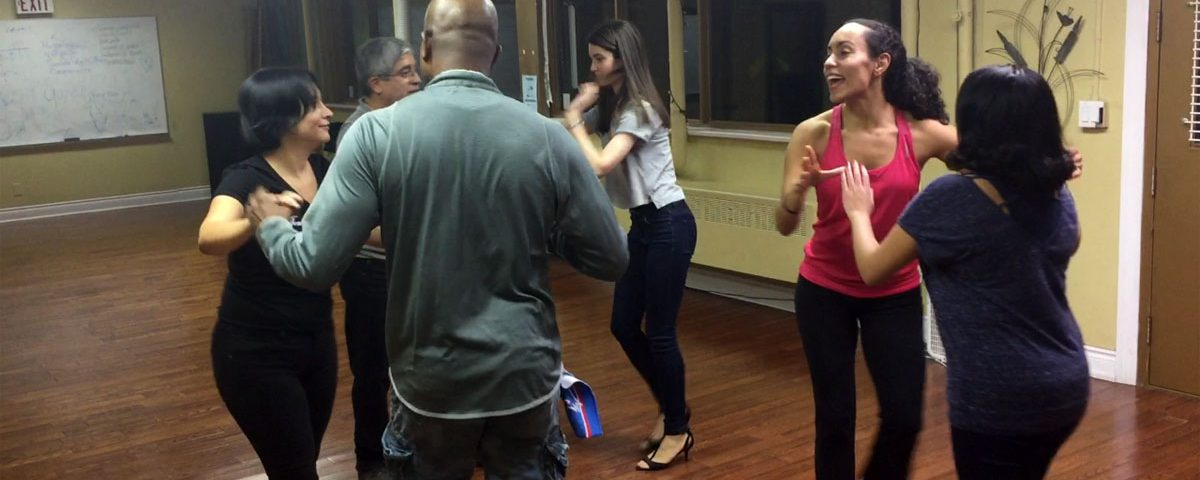 Salsa dancing in Toronto