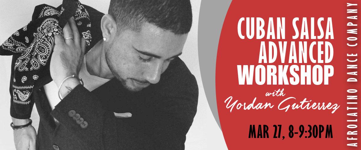 Salsa Workshop with Yordan Gutierrez