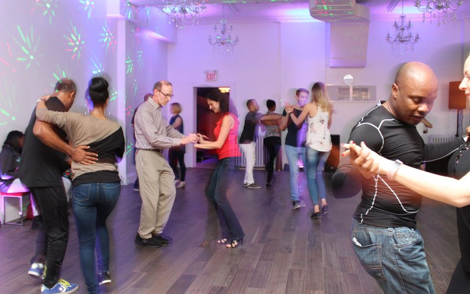 Salsa dancers in Toronto