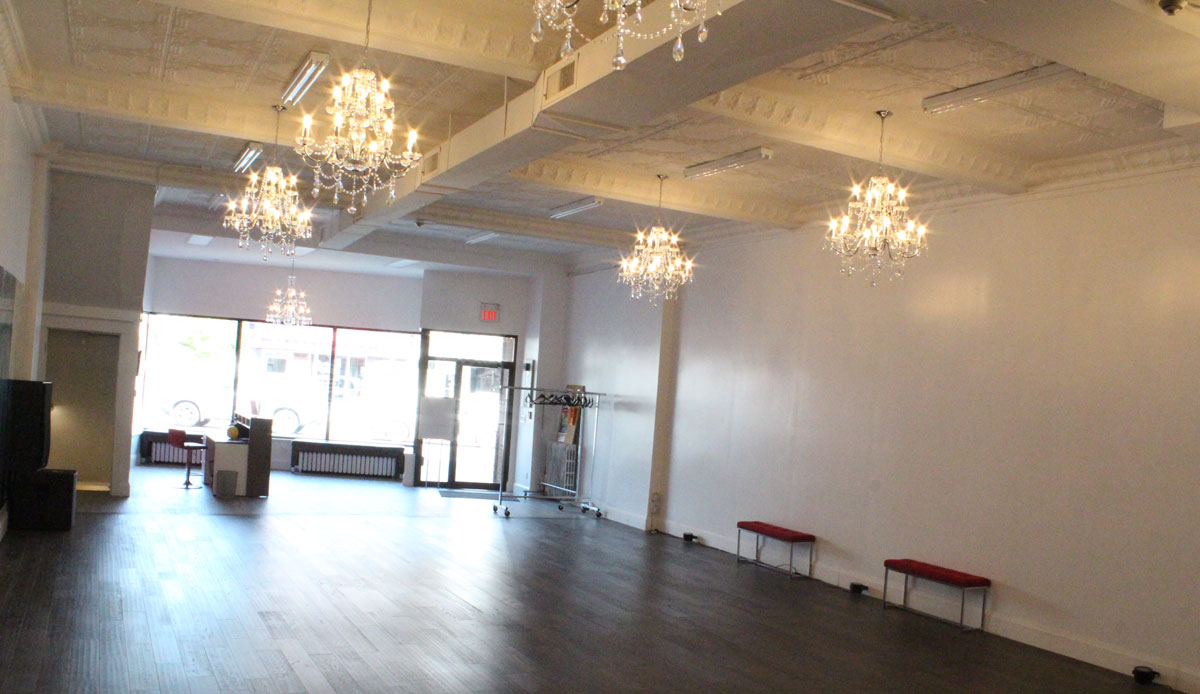 Dance studio, event venue