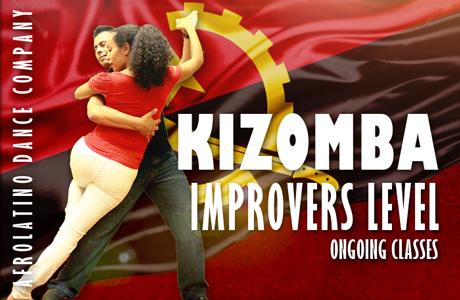 Kizomba and Semba classes, improvers level