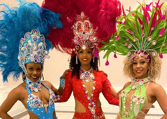 Toronto samba dancers for hire